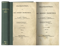 True First U.S. Edition of Frankenstein by Mary Shelley