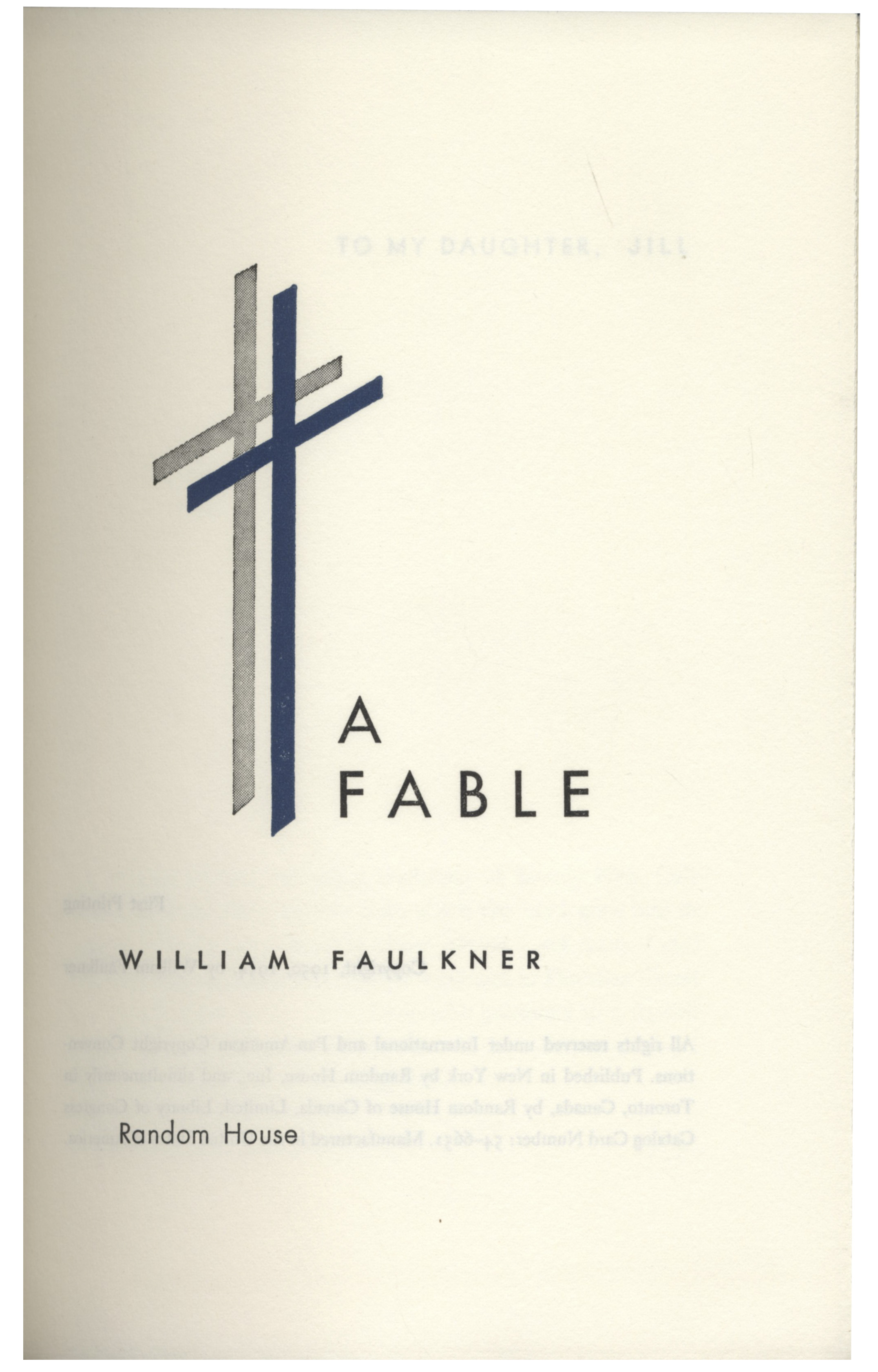 Lot detail william faulkner signed first edition of a fable william faulkner signed first edition of a fable in original biocorpaavc