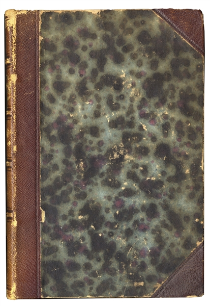 Charles Darwin Zoology of the Voyage of H.M.S. Beagle Thomas Jefferson Scarce Signed 1st Edition of the First U.S. Census -- One of Only a Handful Signed & Ratified by Jefferson
