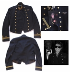 Michael Jacksons Personally Owned & Worn Military Jacket From the 1980s -- With an LOA Signed by Michael