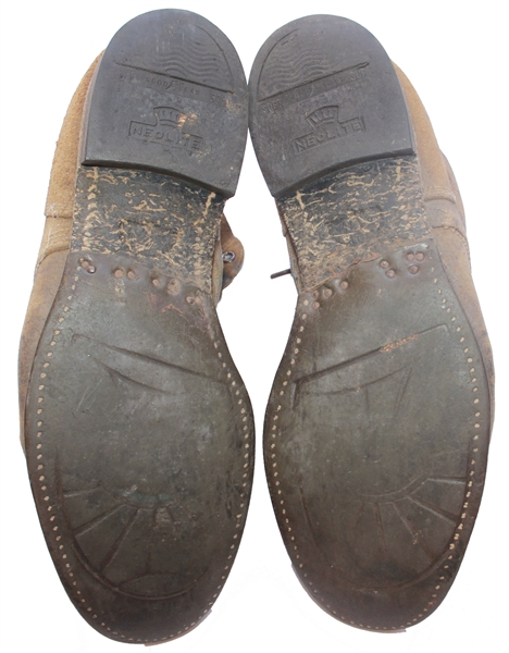 John Bradley's Personally Owned U.S. Marines-Issued Combat Boots -- Used at Iwo Jima -- From John Bradley's Estate