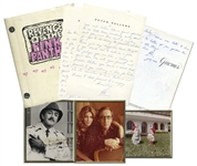Lot of Interesting Items Related to Peter Sellers and the Pink Panther -- Includes Intriguing Autograph Letter Signed by Sellers & Revenge of the Pink Panther Script
