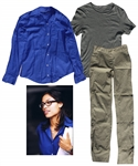 Rosario Dawson Outfit From the Critically-Acclaimed Film Shattered Glass