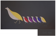 The Partridge Family Animated Title Artwork by Legendary Artist Sandy Dvore -- First Time at Auction