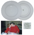 Ronald & Nancy Reagan Personally Owned & Used Soup Bowl