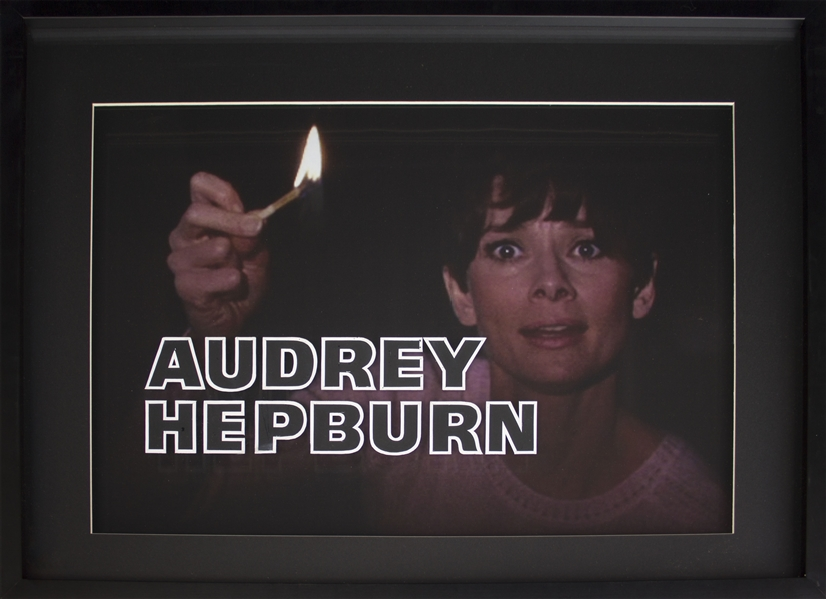 Audrey Hepburn Title Art From ''Wait Until Dark''