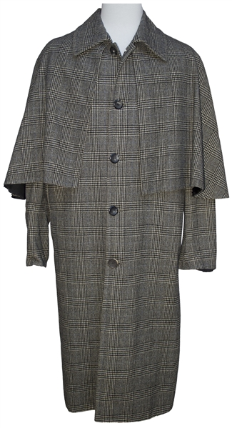 Charlton Heston Inverness Coat From ''The Hawaiians''