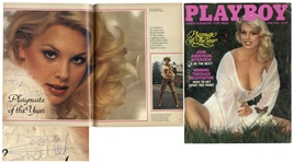 Dorothy Stratten Signed Playboy June 1980 Issue Featuring Stratten as Playmate of the Year
