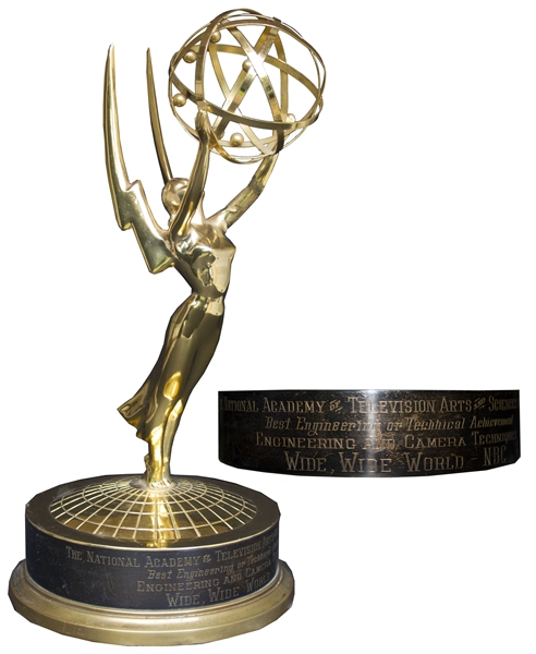 Very Early 1950s Emmy Award -- For the NBC Documentary Series ''Wide, Wide World''