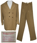 Ernest Borgnine Suit Worn in The Last Command