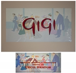 Title Art From the Beloved 1958 Film Gigi