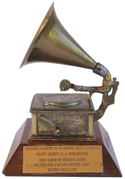 Grammy Award for Motion Picture Score of Beverly Hills Cop
