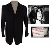 John Wayne Black Jacket Worn in His Republic Pictures Movies -- From Western Costume