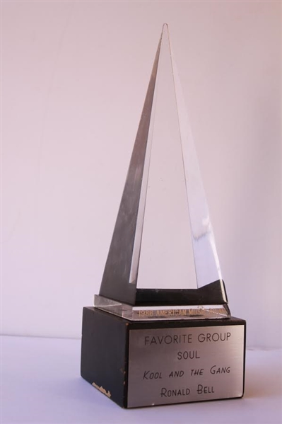 ''Kool and the Gang'' 1986 American Music Award for Favorite Soul Group -- Awarded to Founding Member Ronald Bell