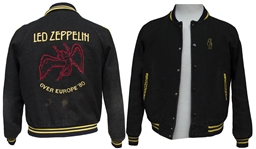 Very Rare Led Zeppelin 1980 Tour Jacket