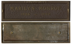 Marilyn Monroes Grave Marker