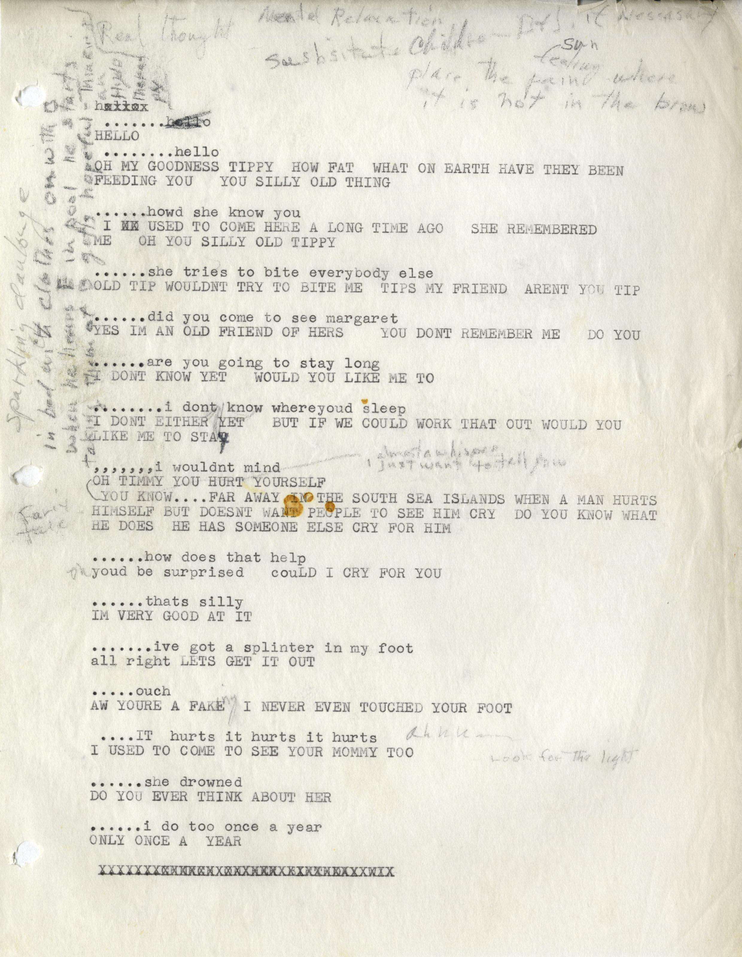 lot detail marilyn monroe s very own hand annotated script from marilyn monroe s very own hand annotated script from her last movie something s