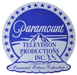 Paramount Pictures Sign -- Large Metal Sign Measures Nearly 2 Feet