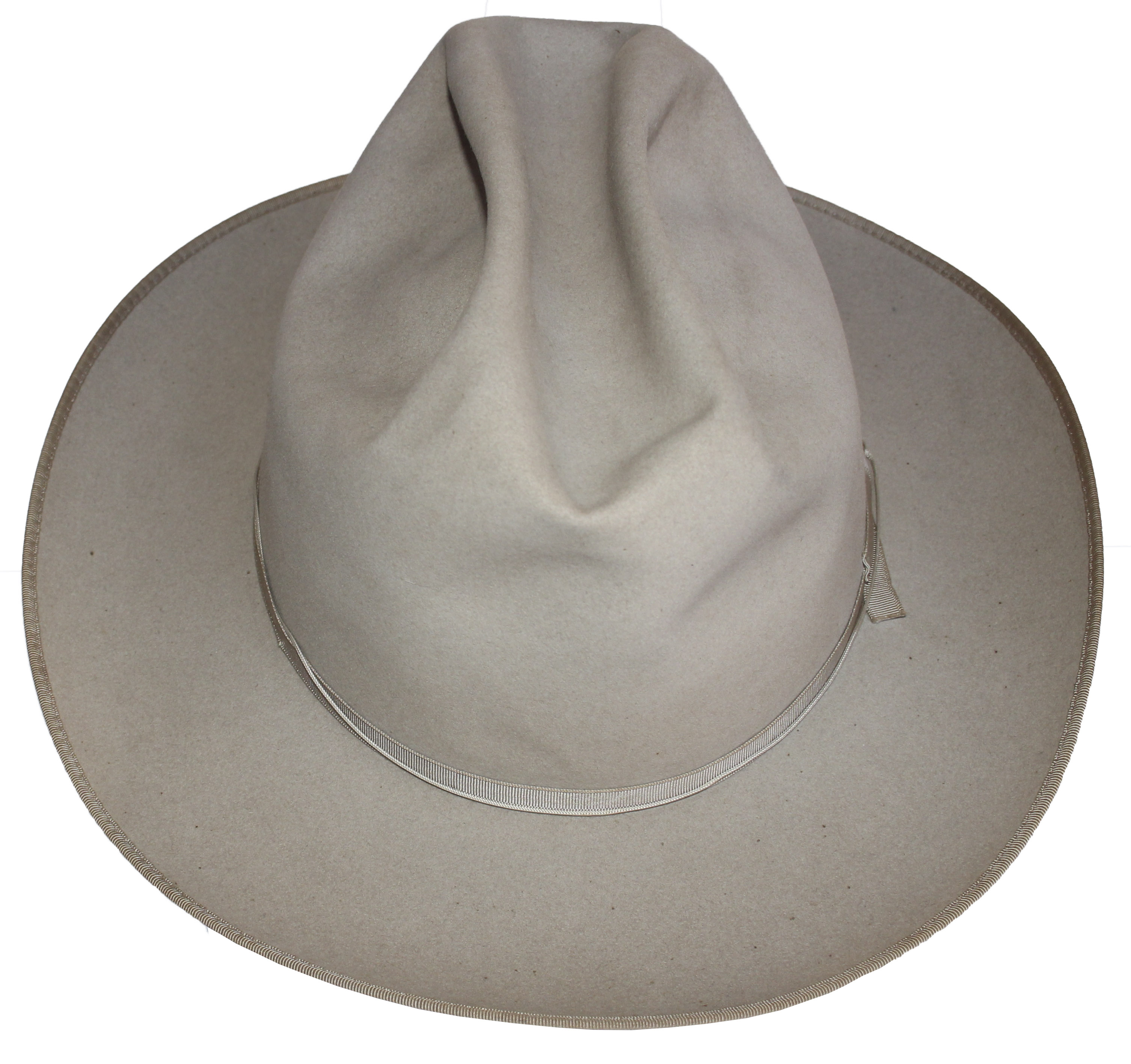 dc726740117 ... Dwight Eisenhower s Personally Own   Worn Stetson Hat -- Worn by Eisenhower  While Hunting ...