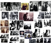 Large Lot of Candid Photos From Parties During the 1960s & 70s at Hickory Hill, Robert & Ethel Kennedys Home -- Including John Lennon & Also RFK Sitting on the Shoulders of Rosey Grier