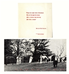 Robert Kennedy Family Christmas Card From 1965 -- Featuring the 9 Kennedy Children