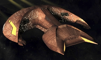 From ''Star Trek: The Next Generation'', the Prototype Used to Make the Famous Ferengi D'Kora Marauder Spacecraft