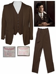 Sylvester Stallone 3-Part Suit From F.I.S.T. -- His First Film After Rocky