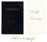Ted Kennedy Signed Limited Edition Book Honoring His Brother Robert F. Kennedy