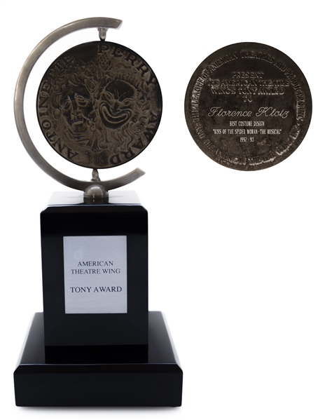 Tony Award for ''Kiss of the Spider Woman'' in 1993 -- ''Spider Woman'' Won Best Musical That Year