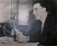 Senator Joseph McCarthy Cold War Photo Signed -- Unusual Oversized Photo Measures 19.5 x 15.5