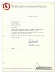 Stan Musial Typed Letter Signed on St. Louis Cardinals Stationery