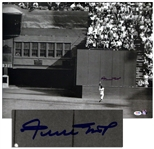 Willie Mays Signed Photo Measuring 20 x 16 -- With PSA/DNA COA