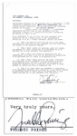 Freddie Prinze, Sr. Rare Contract Signed -- Concerning His Appearance on Variety Show The Midnight Special in 1974