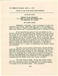 John F. Kennedy Press Release to Argentine War Students After the Cuban Missile Crisis -- ...during the difficulties which we had in October in the Caribbean with Cuba...