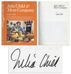 Julia Child & More Company Signed Cookbook -- ...Everything she demonstrates on her second cooking-for-company television series...