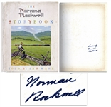 Norman Rockwell Signed First Edition of The Norman Rockwell Storybook -- 1969