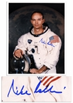 Apollo 11 Astronaut Michael Collins Signed 8 x 10 Glossy Photo -- Mike Collins -- Near Fine