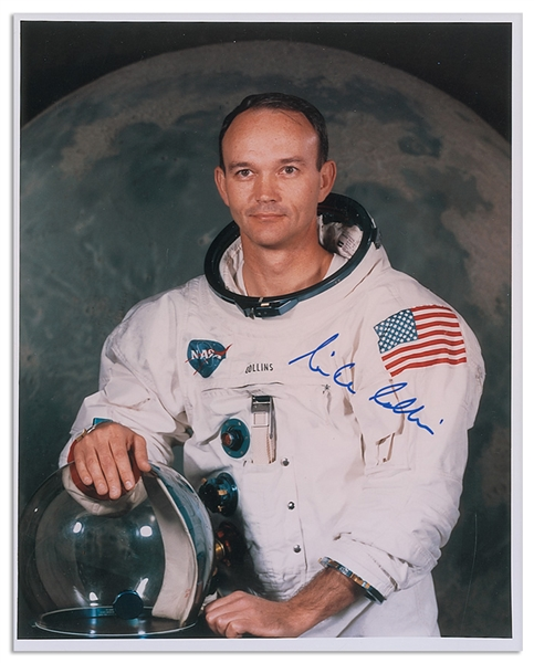Michael Collins Signed 8'' x 10'' Photo