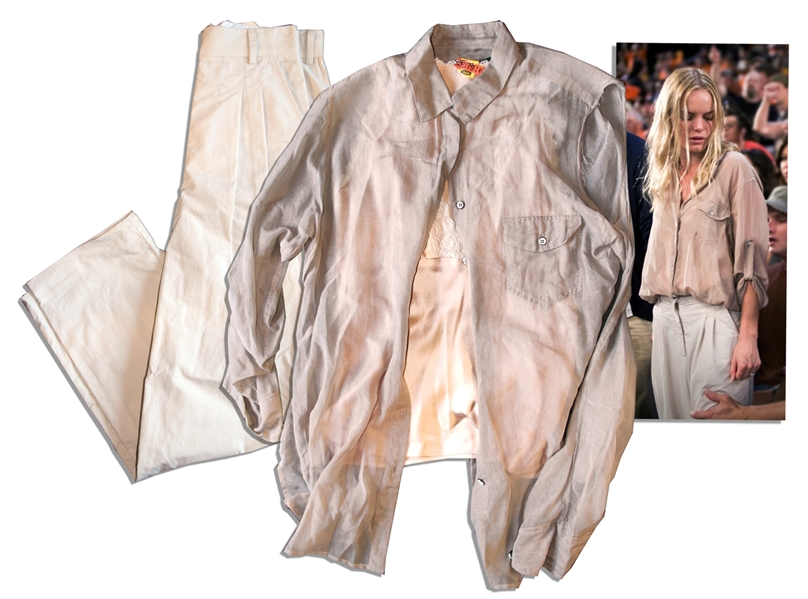 Kate Bosworth Costume From the 2011 Thriller, ''Straw Dogs''
