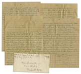 Rene Gagnon WWII Letter Lot -- ...Remember when I used to think the war would end too soon...