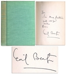 Cecil Beaton Signed First American Edition of His Book I Take Great Pleasure