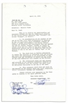 Actor/Director/Producer/Writer/Icon Warren Beatty Signed Contract for the 1970s Classic Shampoo