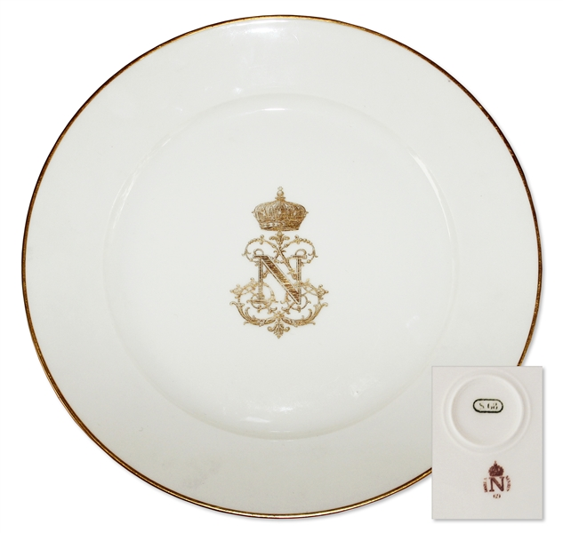 Napoleon III Royal China From Tuileries Palace