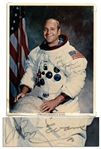 Apollo 17 Astronaut Ron Evans Signed 8 x 10 Photo