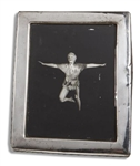Mary Martin Sterling Silver Frame Displaying a Photo of Martin as Peter Pan