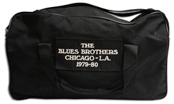 Original Blues Brothers Never Used Duffel Bag From the 1980 Tour