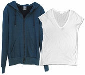 Demi Moore Screen-Worn Blue Hoodie From the 2012 Film, LOL