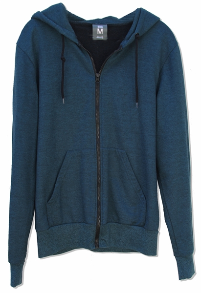 Demi Moore Screen-Worn Blue Hoodie From the 2012 Film, ''LOL''