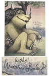 Maurice Sendak Where The Wild Things Are Signed Page