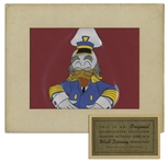 Original Disney Cel of Ludwig Von Drake -- The Nautical-Inspired Uncle of Donald Duck